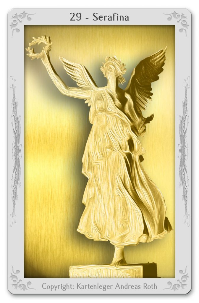 engelkarte engeltarot engel 29 serafina