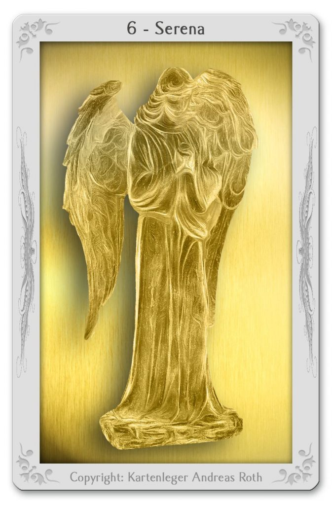 engelkarte engeltarot engel 6 serena