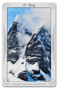 lenormand karte der berg