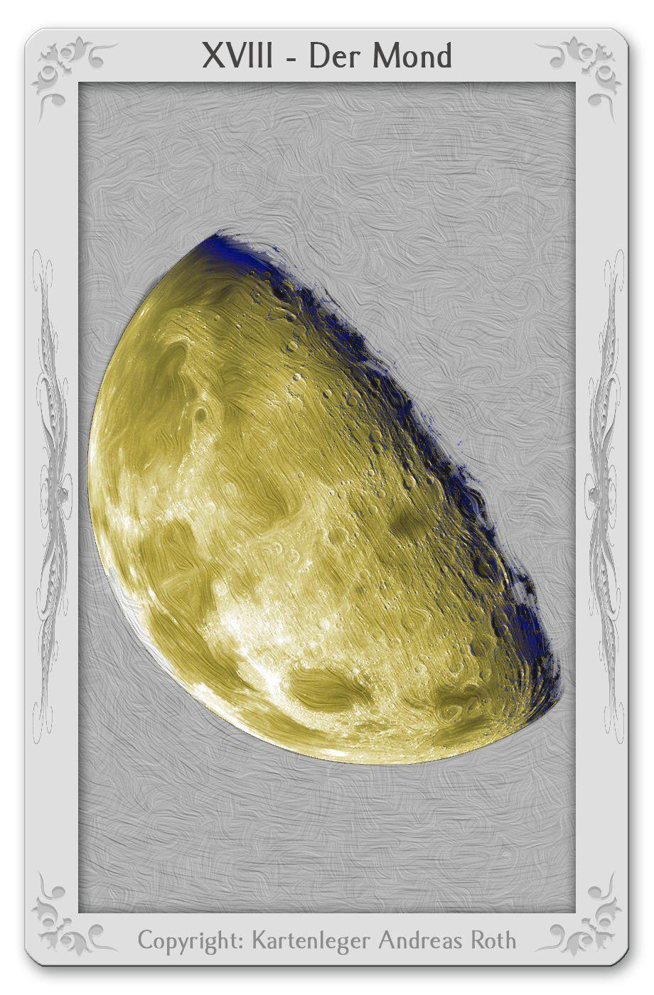 Tarotkarte Der Mond: Bedeutung, Kombinationen, Deutung