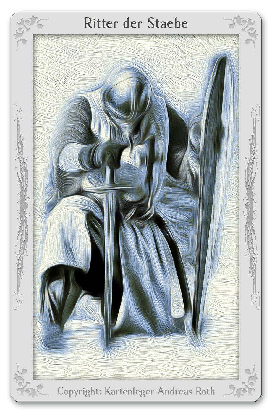 Tarotkarte Ritter der Stäbe: Bedeutung, Kombinationen, Deutung